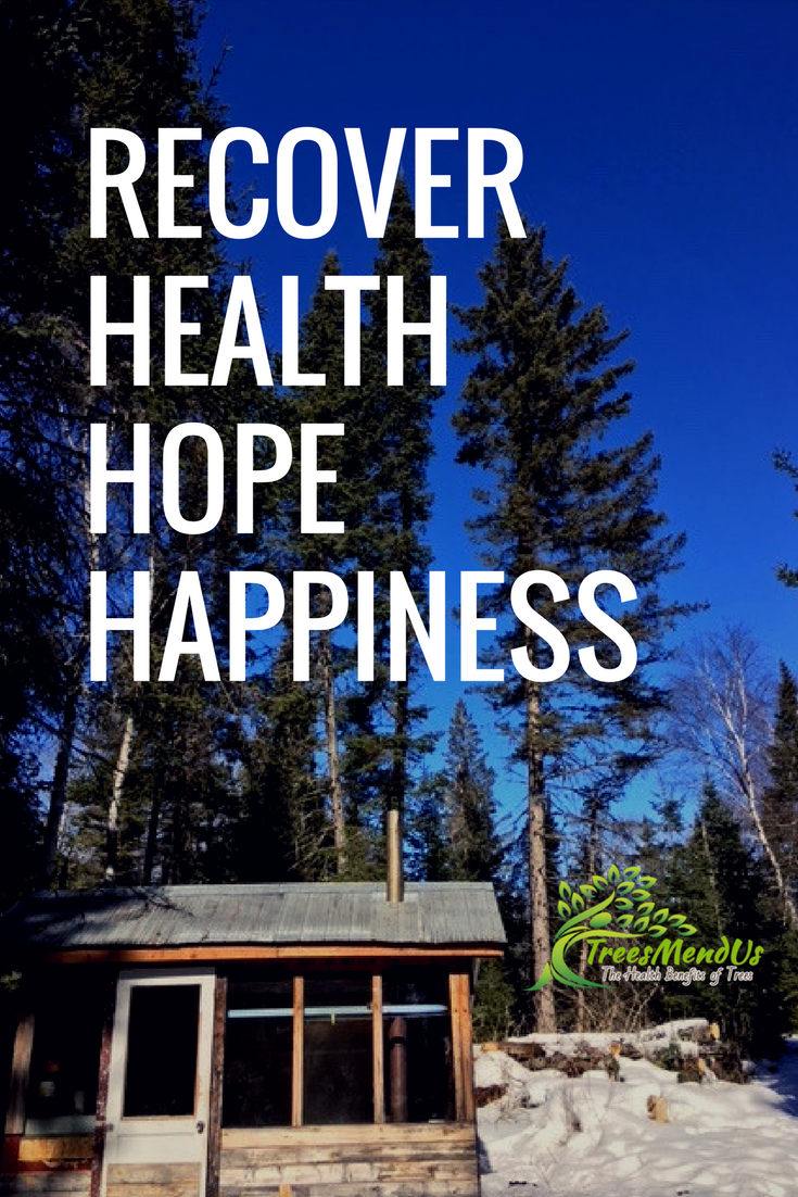 how to recover health hope and happiness with the help of trees